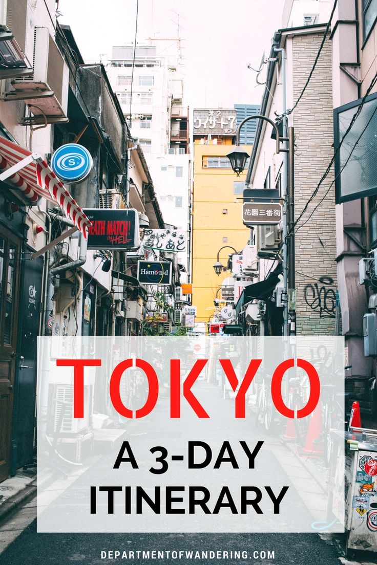 3 Days in Tokyo: What to See, Do and Experience