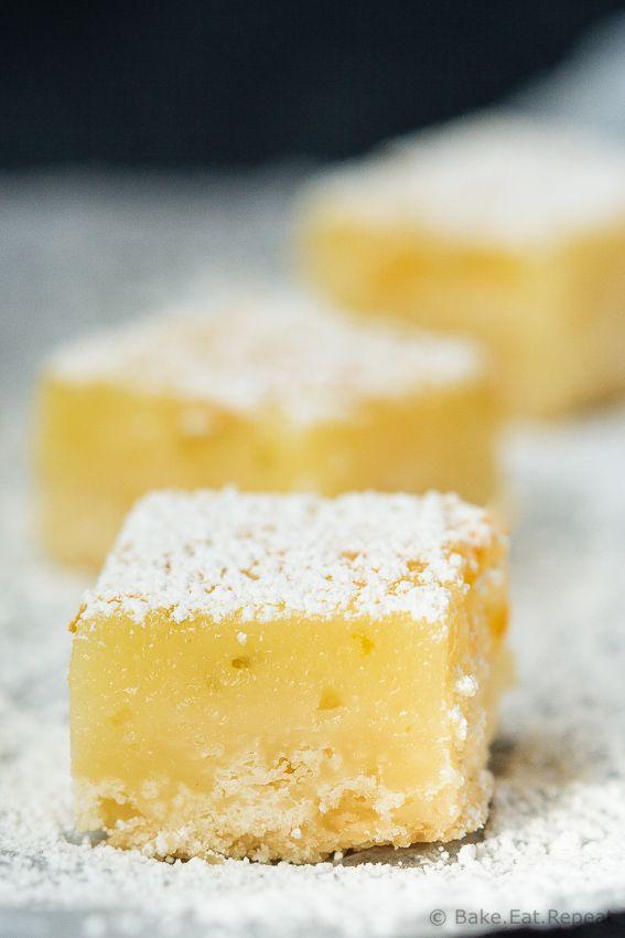 Lemon Lime Bars - Tart, sweet, amazing lemon lime bars with a crisp shortbread crust - the perfect dessert that everyone will love!