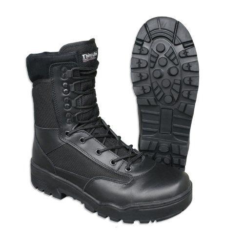 Mil-Tec Tactical Stiefel Cordura (GR.42/UK 8) - http://on-line-kaufen.de/miltec/8-41-mil-tec-stiefel-tactical-cordura-schwarz-gr-43