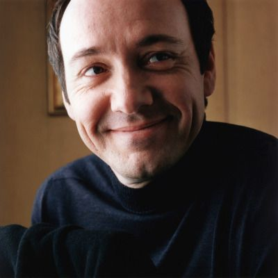 "Chasing Spacey: ""I cannot get out of bed if I don't have a challenge unlike any other I've had. Every single day my life, I have to go, 'Can I do this?"" ~Kevin Spacey, The Sunday Times, December 19, 1999. Photographed by Peter Marlow"