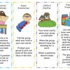 These are great for independent reading. It helps remind students  of their roles in the reciprocal teaching process.     Reciprocal teaching refers ...