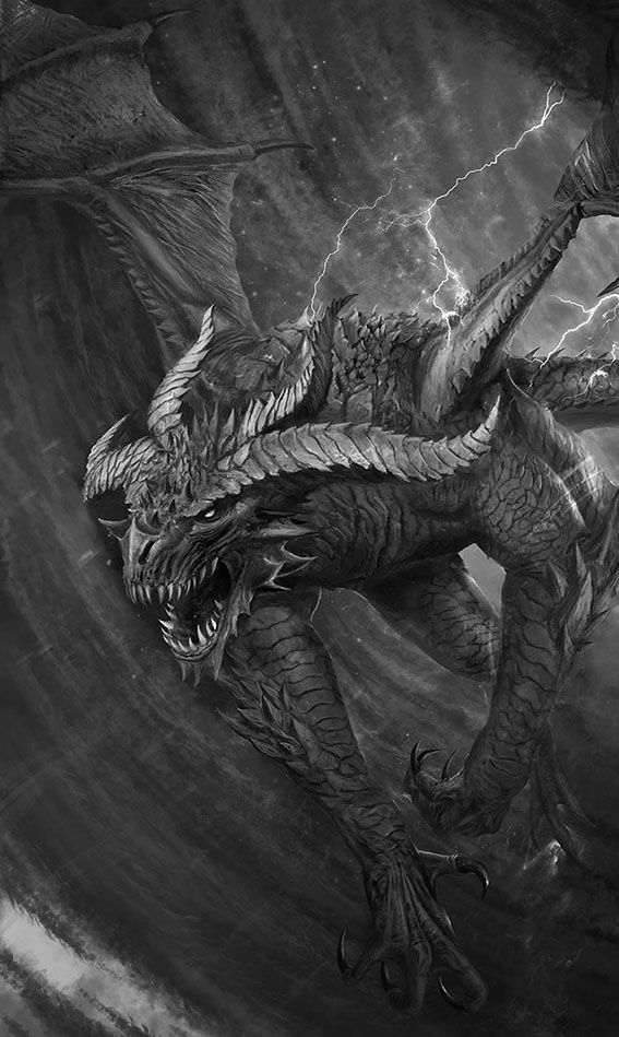 """""""Dragon or demon, maybe both"""" --previous pinner"""