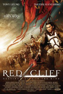 "Red Cliff (2008) ""Chi bi"" (original title) - The first chapter of a two-part story centered on a battle fought in China's Three Kingdoms period (220-280 A.D.).  Director: John Woo Writers: John Woo (screenplay), Khan Chan (screenplay),] Stars: Tony Leung Chiu Wai, Takeshi Kaneshiro, Fengyi Zhang"