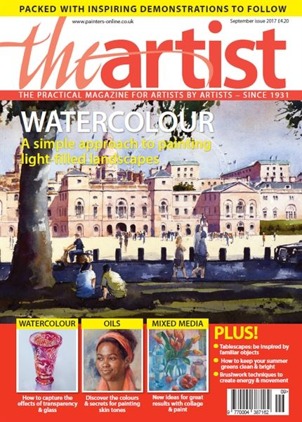 September 2017 The Artist. Buy online, http://www.painters-online.co.uk/