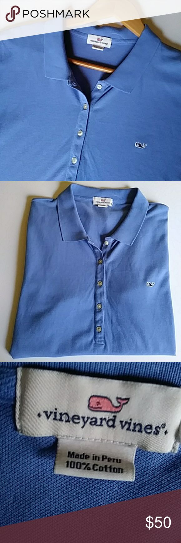 SALE VINEYARD VINES Classic Polo Shirt Classic preppy polo style short-sleeve top by VINEYARD VINES. In very good condition gently worn. Perfect for a day at the beach, on the boat or at the golf course, etc. The size tag is cut out so check the measurements carefully with a similiar shirt you own: Chest (underarm to underarm) 21.5 inches, Length (shoulder to hem) 25 inches. Any questions feel free to ask  Comes from a smoke free home. Bundle and $ave. FAST SHIPPING. ⭐⭐⭐⭐⭐Top-rated seller…