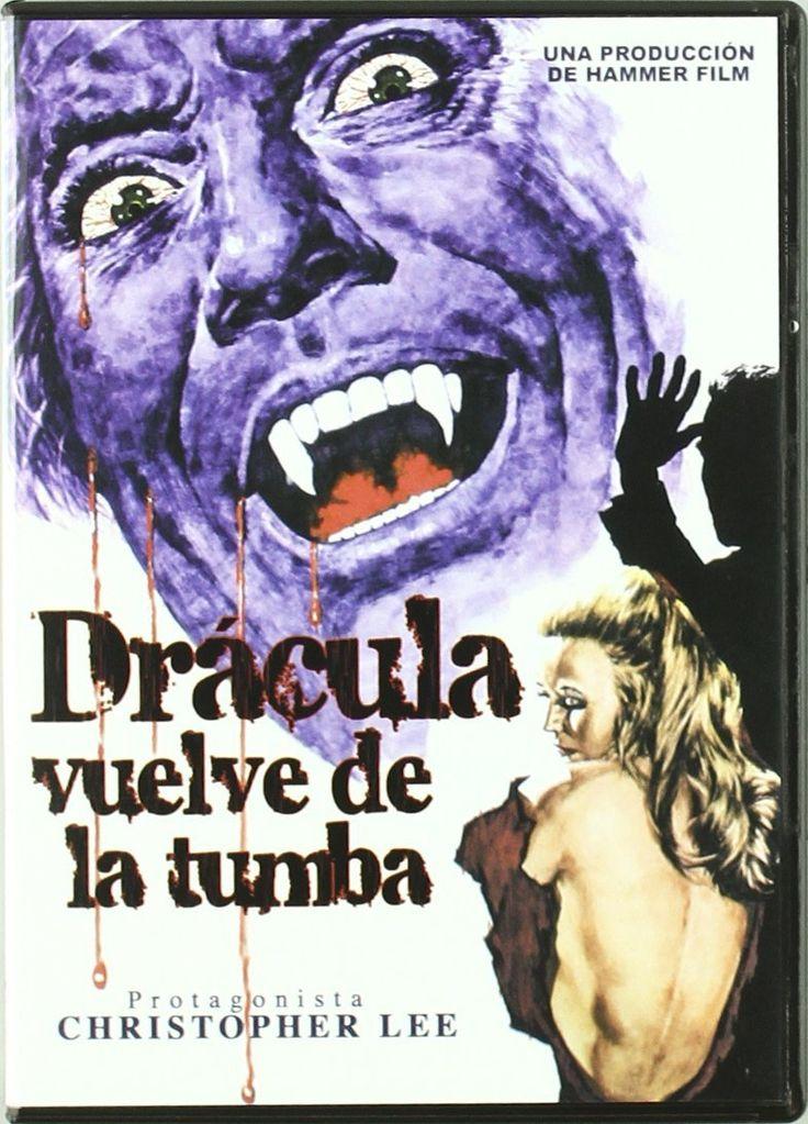 1968 - Drácula vuelve de la tumba es la tercera película de la saga del Conde Drácula protagonizada por Christopher Lee y realizada por la Hammer Productions.