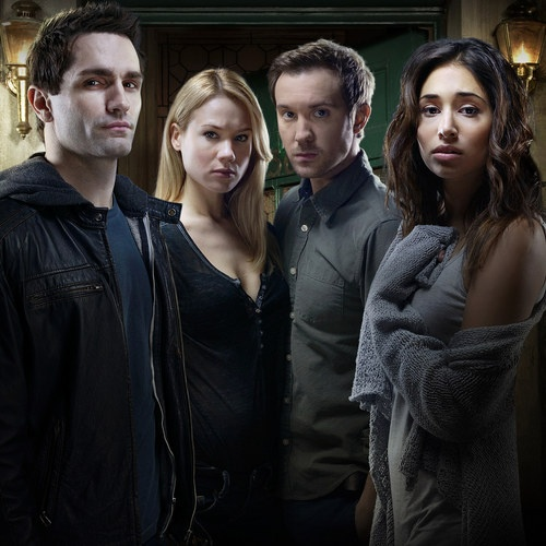Syfy Renews Being Human for Season 4 -- The cable network handed out a 13-episode order for the hit series starring Sam Witwer, Meaghan Rath and Sam Huntington. -- http://wtch.it/QF23i
