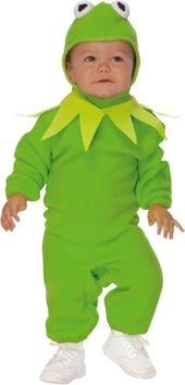 Kermit the Frog Costume for Toddler Boys