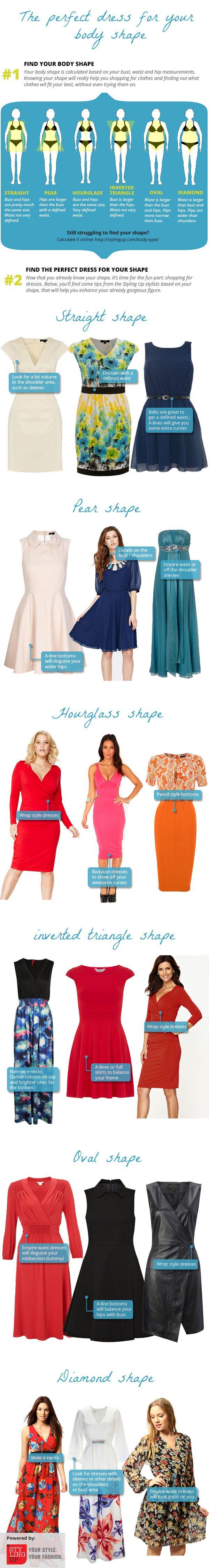 Dresses for body shape