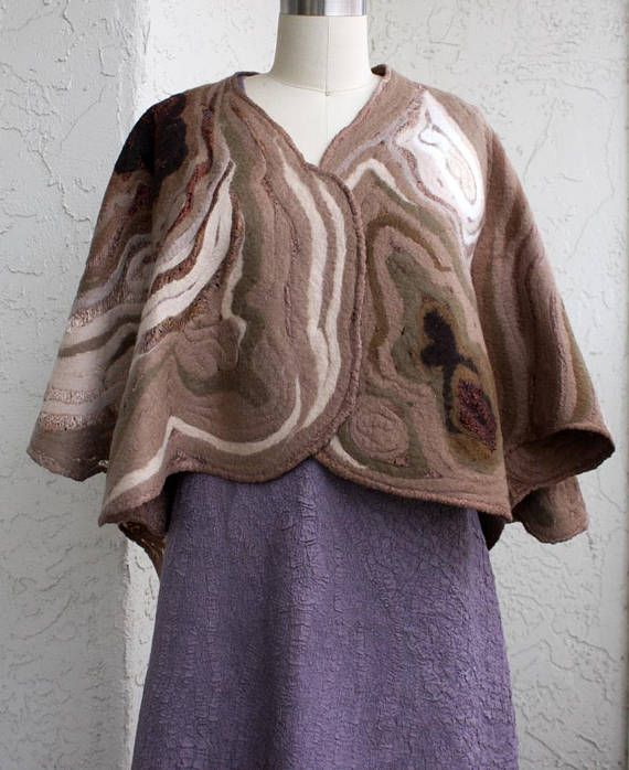 Eco-friendly elegant brown beige white reversible cape cover