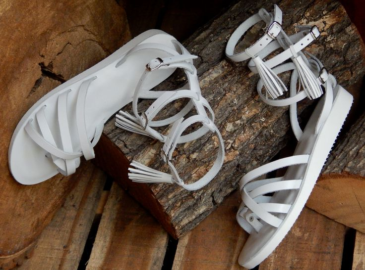 Handmade leather wedding sandal ANTIGONE 3  ...... Romba's leather sandals & bags
