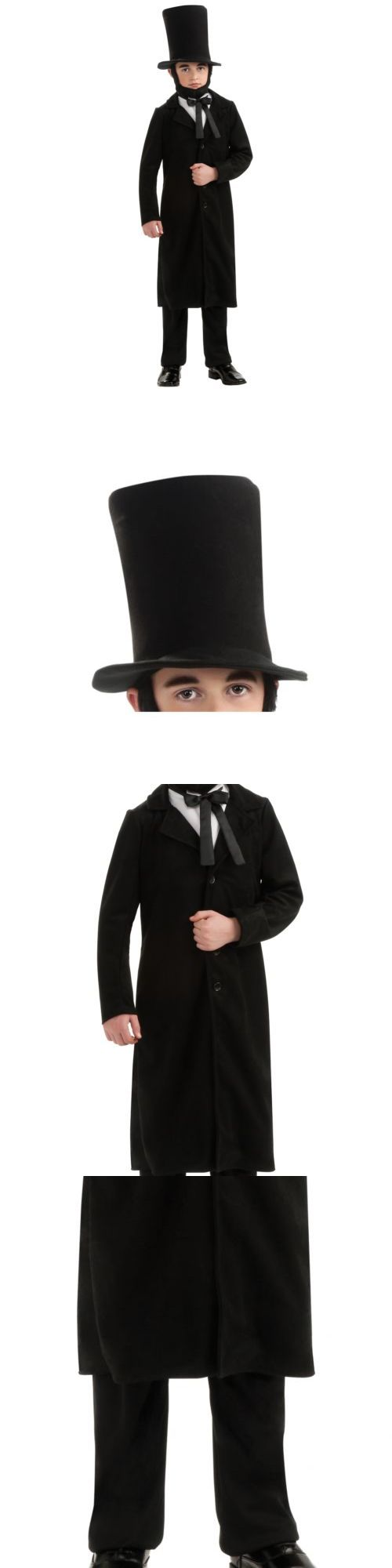 Boys 80913: Abraham Lincoln Costume Halloween Fancy Dress -> BUY IT NOW ONLY: $31.09 on eBay!