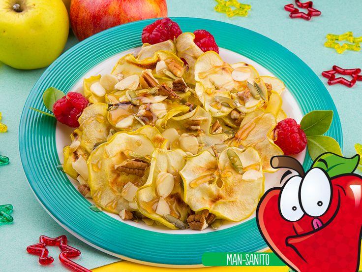 Nachos de Manzana