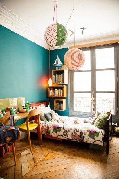 Un appartement parisien à l'esprit vintage et moderne |