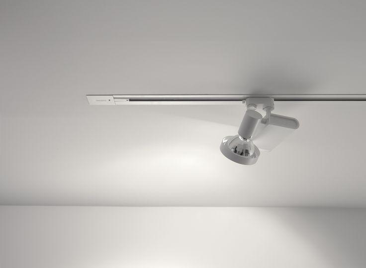 19 best track lighting images on pinterest track lighting sleek spot mounted on recessed track aloadofball Gallery