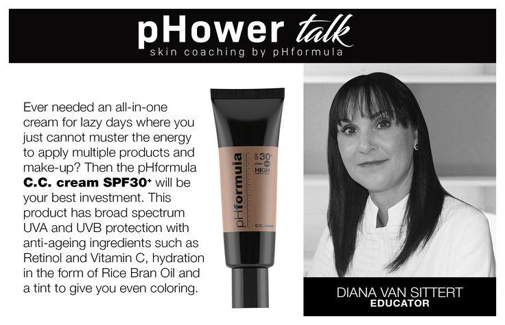 pHower talk skin coaching with pHformula.  #pHowerTalk #Innovation #TalkonThursdays