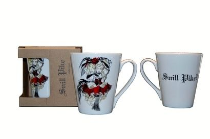 ,, Snill pike,, collection by Anna Strøm mugs ,, Snill pike ?,,- God girl? rebel design http://www.design-of-norway.no/ www.snillpike.no