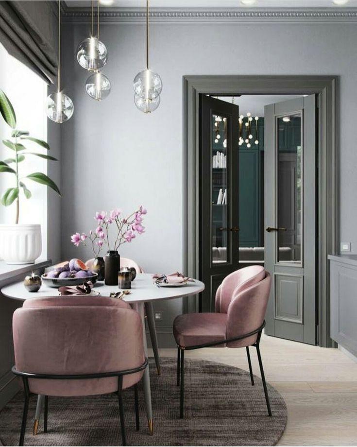Dovita Upholstery Fabric Istanbul / Pink Velvet – instagram @dovitakumas #interiordesign #HomeDecoration #HomeDecor #Decoration