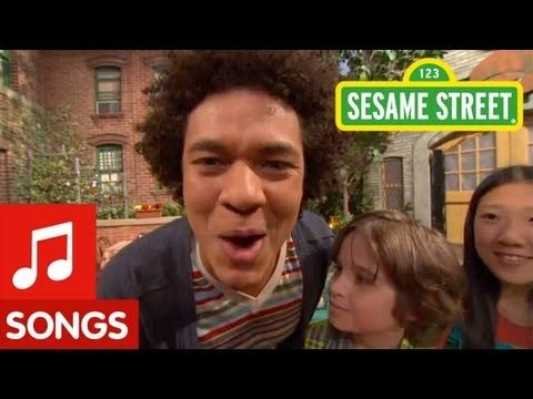 ▶ Sesame Street: What rhymes with Mando? - YouTube  Present Progressive examples