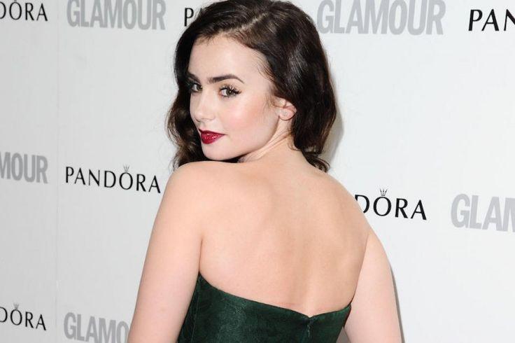 Donne più belle del mondo: #LilyCollins icona sexy