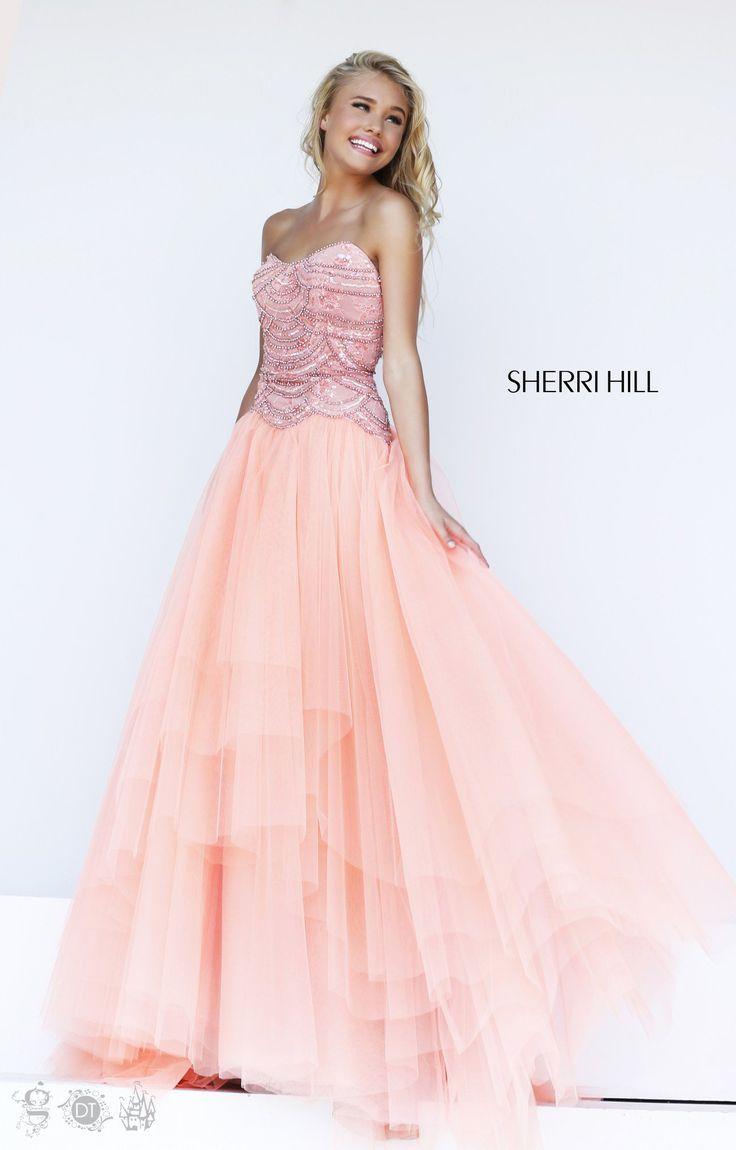 45 best Sherri Hill Dresses images on Pinterest | Vestido de sherri ...