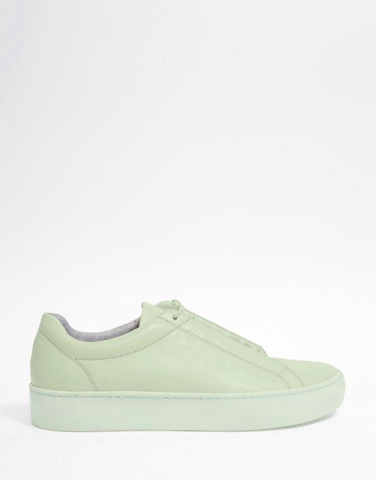 Изображение 2 из Мятно-зеленые кожаные кроссовки Vagabond Zoe