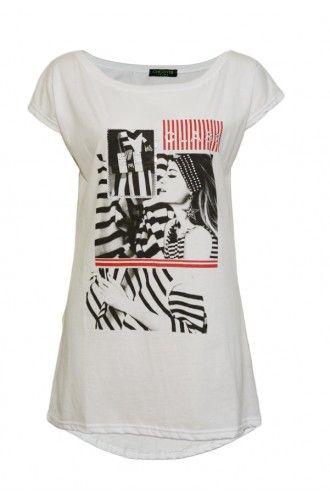 """Μπλούζα Γυναικεία T-Shirt """"Via Lab"""""""