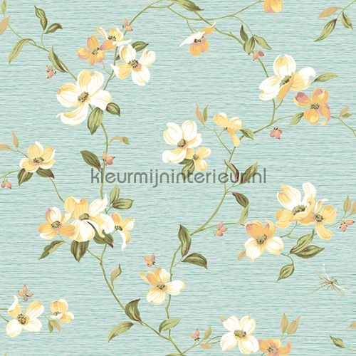 Dogwood bloem 322312 | behang Lavender Dream van Eijffinger | kleurmijninterieur.nl