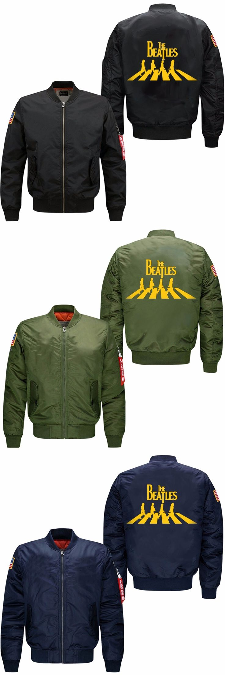 2017 Winter Jackets For Men The Classical English Band The Beatles Men's Coats and Jackets