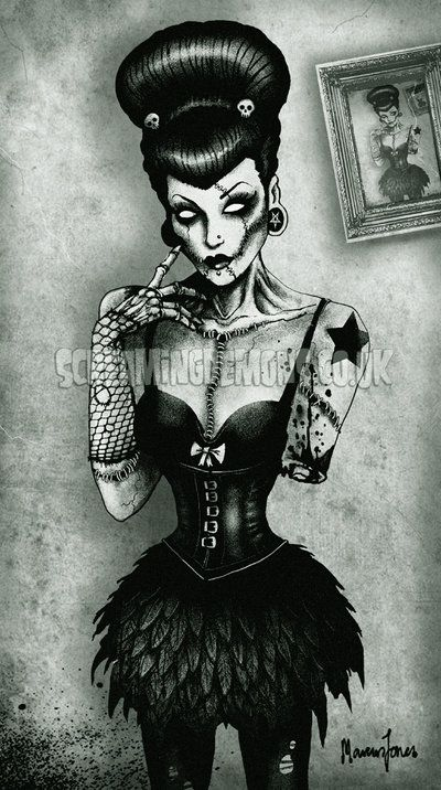 Zombie Girl 666 by *ScreamingDemons on deviantART