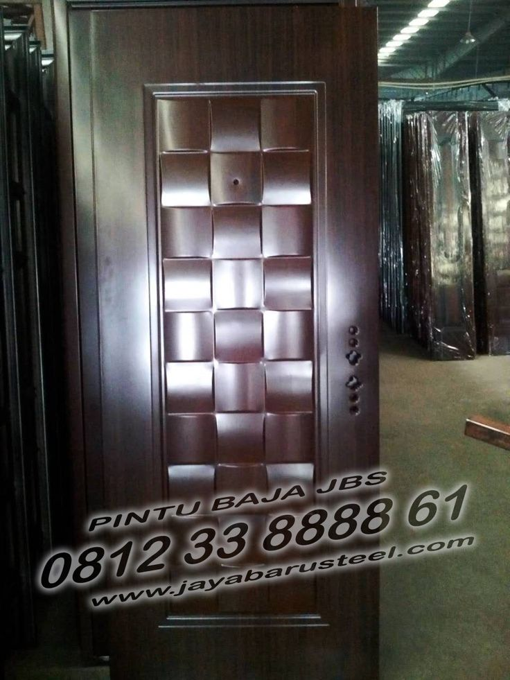 Pintu Besi Rumah Minimalis, Harga Pintu Plat Besi, Pintu ...