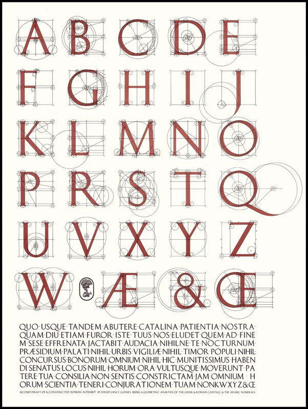 Goine's masterful alphabet... Thanks, Alsn!