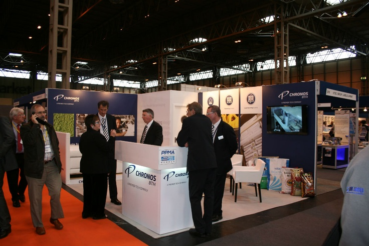 Chronos BTH stand at the 2012 PPMA show