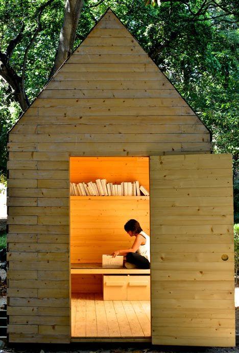 Reading Cabin by Marta Wengorovius