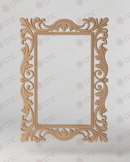 DEKORATİF AYNA ÇERÇEVESİ Decorative Mirror Frame www.cncahsap.net
