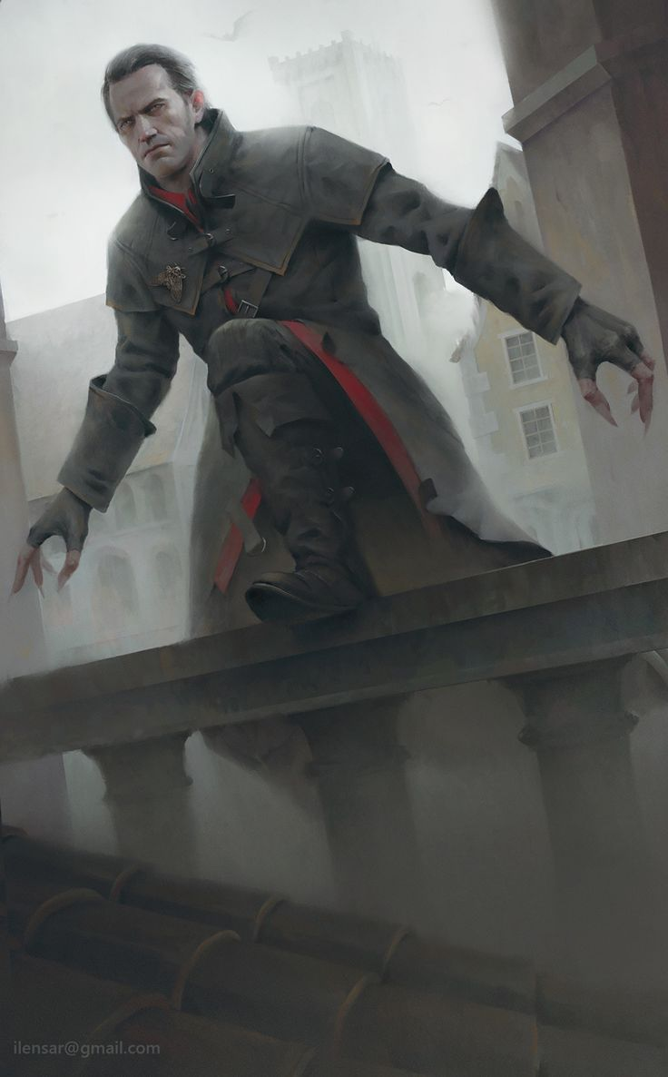 Dettlaff van der Eretein, Alexander Borodin on ArtStation at https://www.artstation.com/artwork/3PdVJ