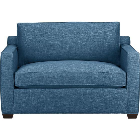 Davis Twin Sleeper Sofa in Sofas | Crate and Barrel