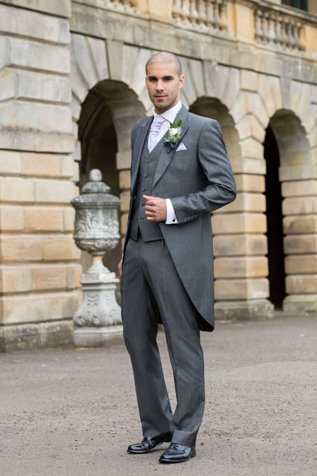 Top Hat and Tails; Styling the groom with wedding attire from Slaters Definitely with brown shoes though