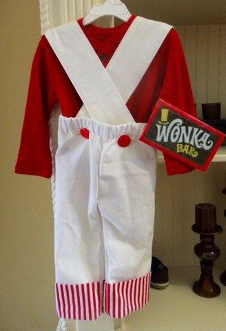 Baby and Kids Willy Wonka Oompa Loompa Costume by ChicUniqueBaby