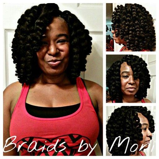 Jamaican Natural Hairstyles: Crochet Braids Using Jamaican Bounce Hair Www.styleseat