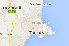 Map of Torquay United Kingdom