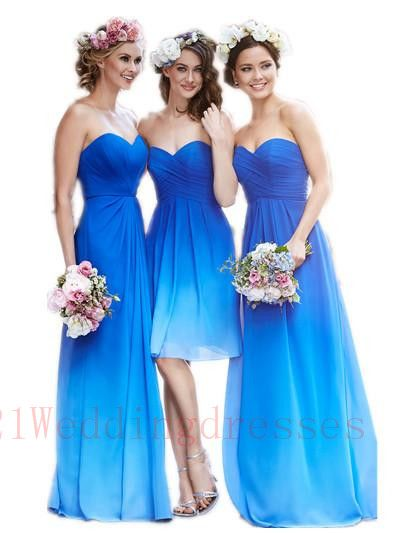 Top Sales Gradient Chiffon Bridesmaid Dresses,Sweetheart Bridesmaid Dresses. http://21weddingdresses.storenvy.com/products/15649827-top-sales-gradient-chiffon-bridesmaid-dresses-sweetheart-bridesmaid-dresses