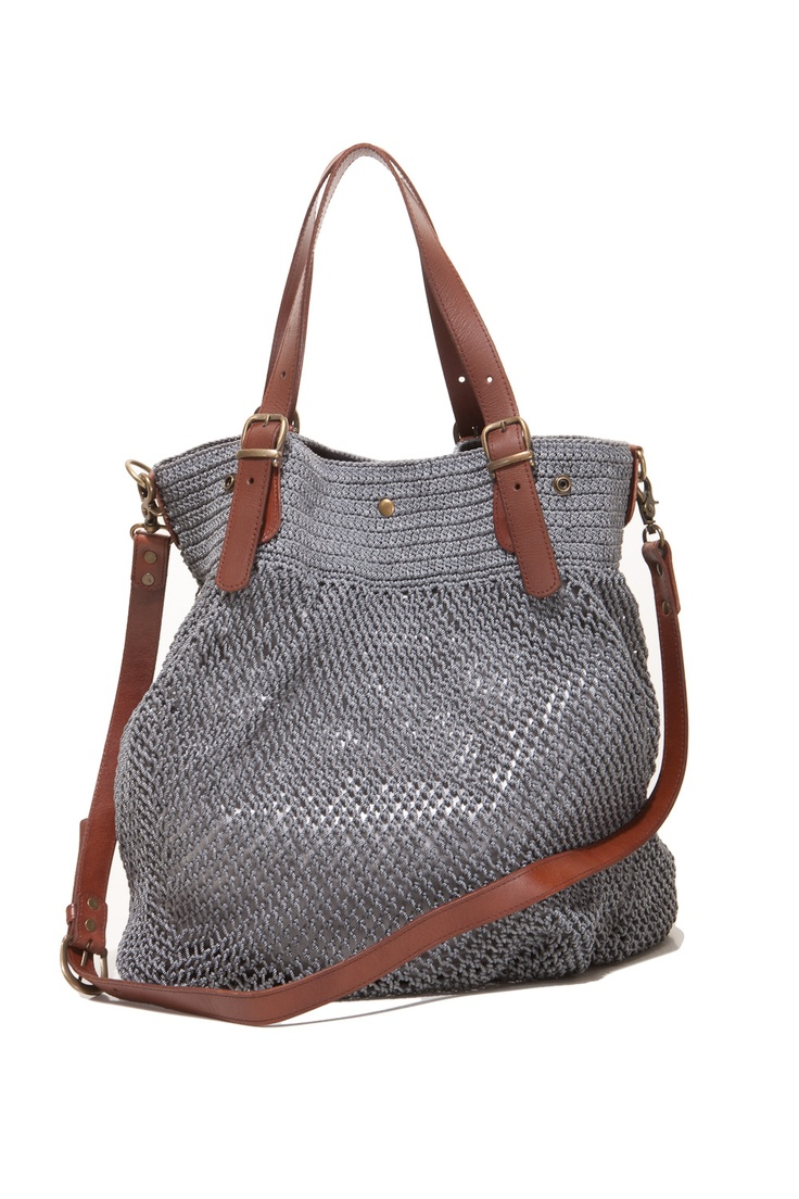 crochet bag (no longer available, but great inspiration!)