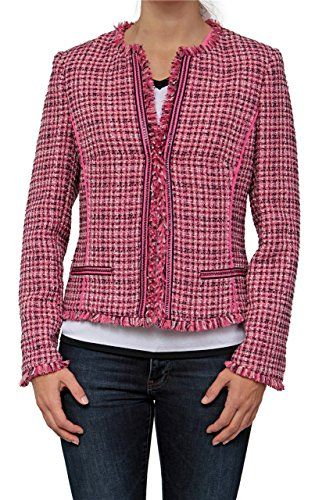 Basler Damen Blazer PINK ZEBRA, Farbe: Pink, Größe: 50   http://xxl.damenfashion.net/shop/basler-damen-blazer-pink-zebra-farbe-pink-groesse-50/