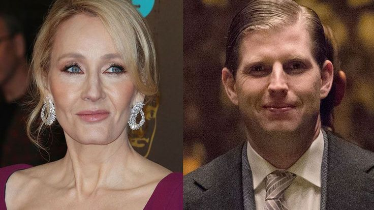 J.K. Rowling Explains Why The Trump Children Wouldn't Be In Slytherin In The Best Way Possible.