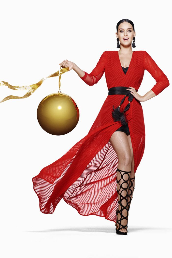 Katy Perry @ H&M festive campaign 2015