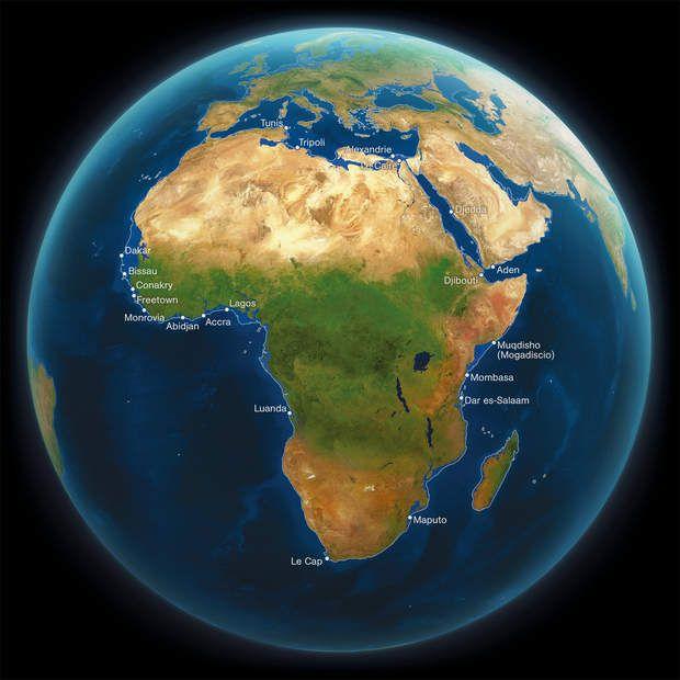 AfriqueComparée aux autres continents, l'Afrique perdrait une moindre superficie lors de cette montée des eaux catastrophique. Cependant, l'augmentation de la température pourrait la rendre en grande partie inhabitable. Et les neiges du Kilimandjaro ne survivront pas à notre siècle.
