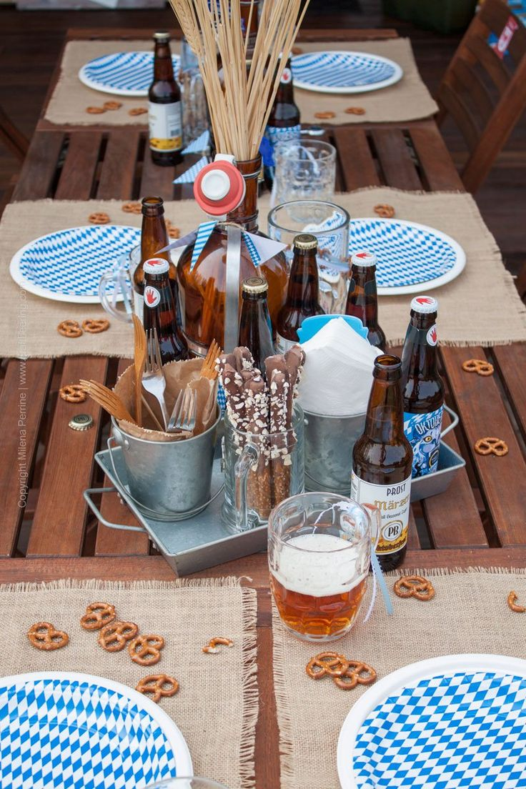 Oktoberfest Party Tablescape