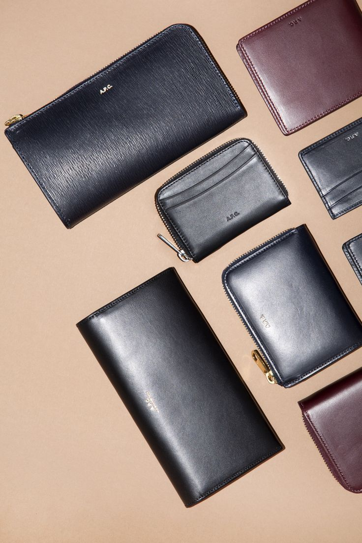 A.P.C. Leather goods: - http://bit.ly/1mla6V2