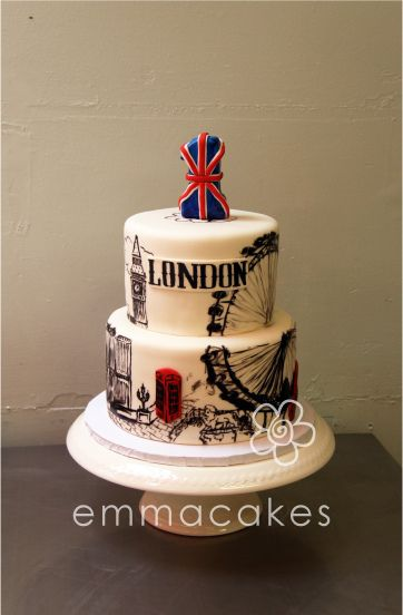 Cheers for London's 1st Birthday by emmacakes, via Flickr